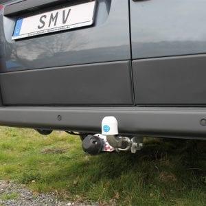 SMV - AHK für Kastenwagen Fiat Ducato X250 - Abnehmbar