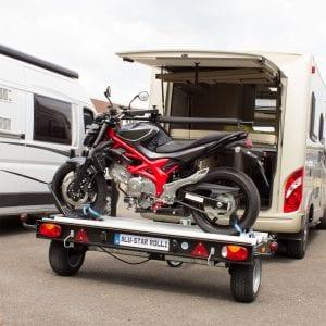 Alu-Star Rolli | auch für schwere Motorräder geeignet