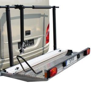 SMV - Alu-Plattform | Optional: Haltearm, Reifenhaltebügel