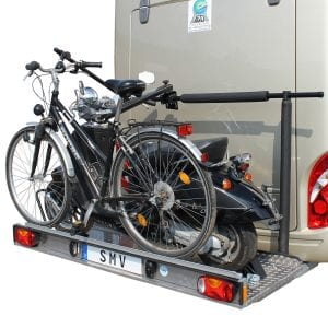 SMV - Alu-Plattform | Optional: Rüstsatz für 1 Rad