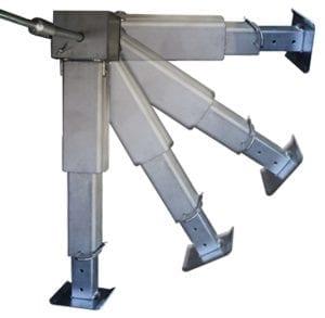 SMV - Alu-Matic Stütze | Ausfahren